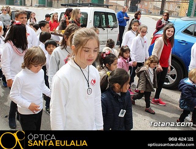Procesión infantil Semana Santa 2018 - Colegio Santa Eulalia - 11