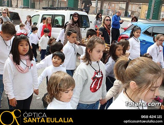 Procesión infantil Semana Santa 2018 - Colegio Santa Eulalia - 12