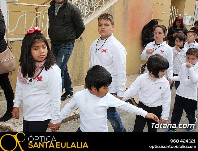 Procesión infantil Semana Santa 2018 - Colegio Santa Eulalia - 20