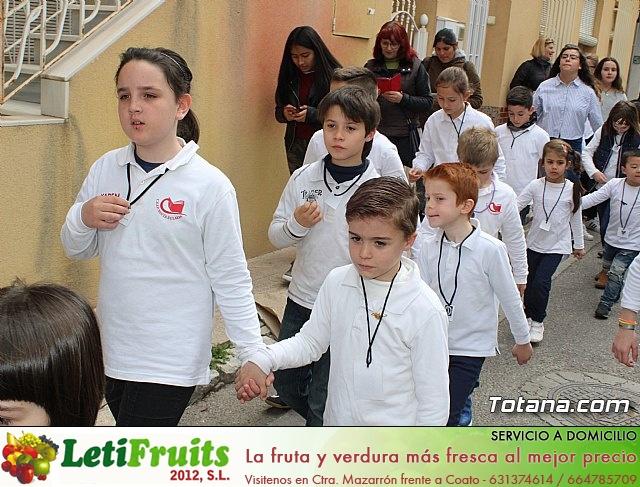 Procesión infantil Semana Santa 2018 - Colegio Santa Eulalia - 21