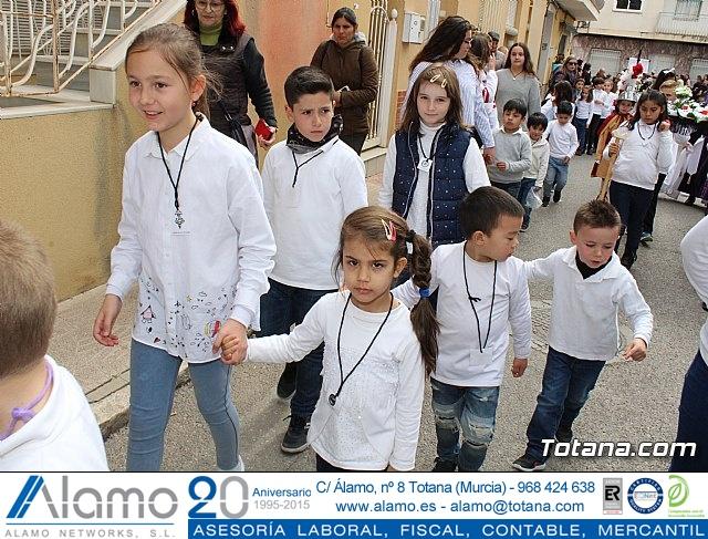 Procesión infantil Semana Santa 2018 - Colegio Santa Eulalia - 23