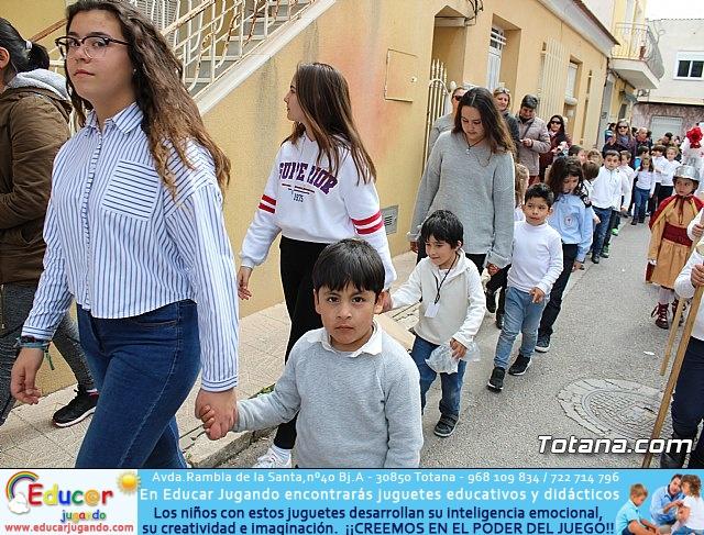 Procesión infantil Semana Santa 2018 - Colegio Santa Eulalia - 25