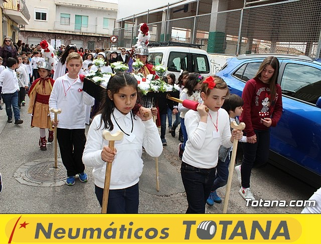 Procesión infantil Semana Santa 2018 - Colegio Santa Eulalia - 27