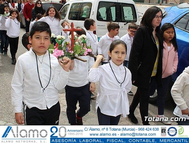 Procesión infantil Semana Santa 2018 - Colegio Santa Eulalia - 32