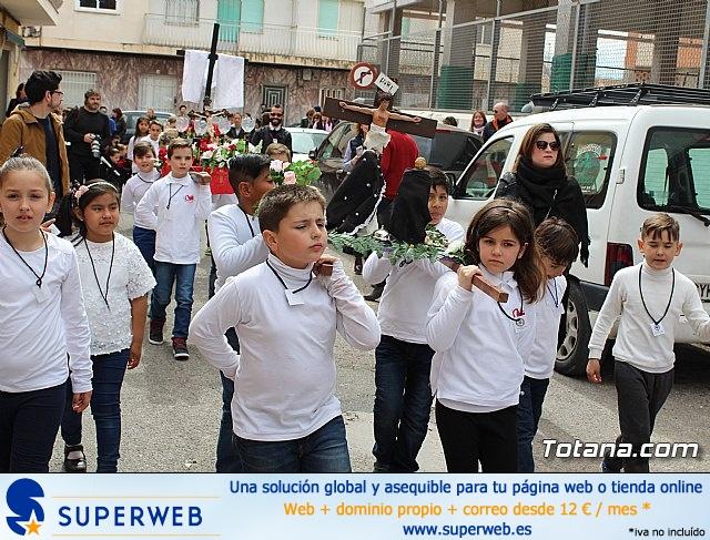 Procesión infantil Semana Santa 2018 - Colegio Santa Eulalia - 34