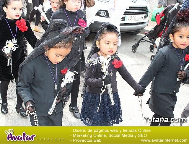 Procesión infantil Semana Santa 2018 - Colegio Santa Eulalia - 71
