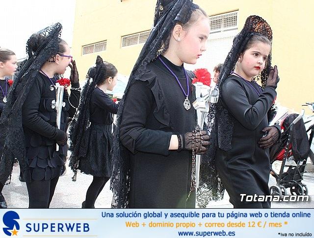 Procesión infantil Semana Santa 2018 - Colegio Santa Eulalia - 77