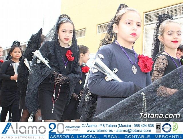 Procesión infantil Semana Santa 2018 - Colegio Santa Eulalia - 79