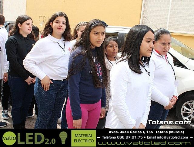 Procesión infantil Semana Santa 2018 - Colegio Santa Eulalia - 87