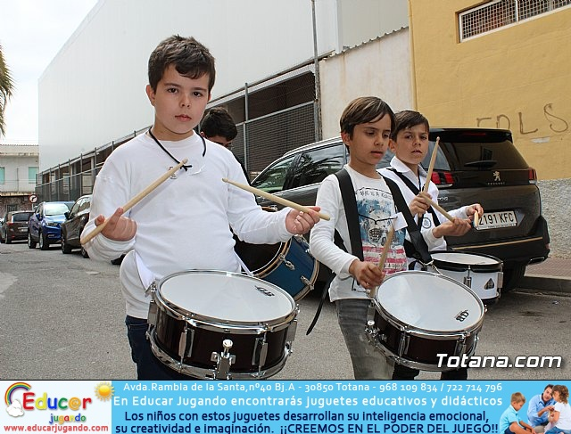 Procesión infantil Semana Santa 2018 - Colegio Santa Eulalia - 94