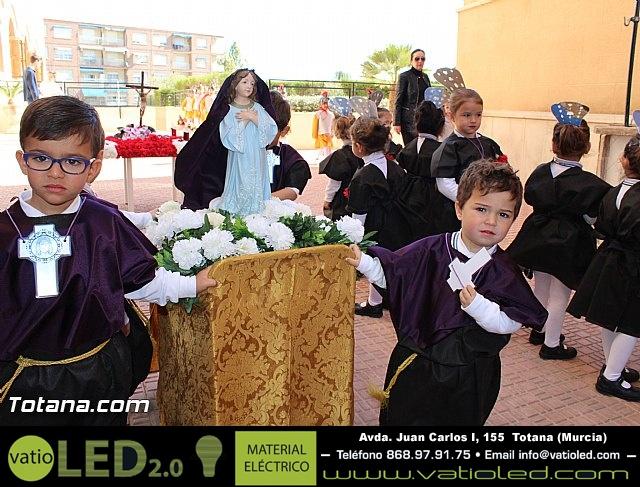Procesión infantil Colegio La Milagrosa - Semana Santa 2015 - 9