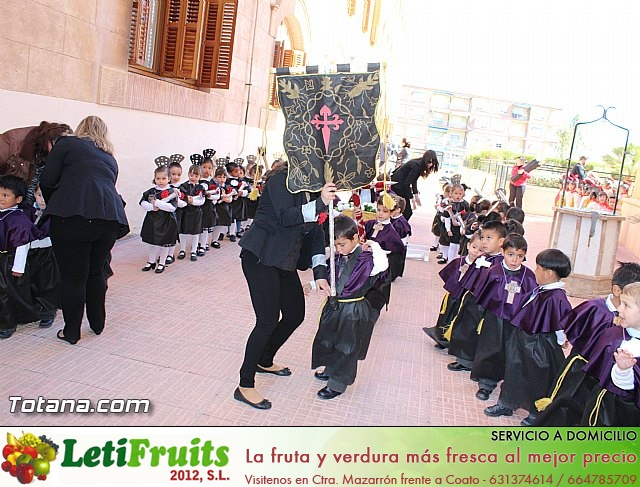 Procesión infantil Colegio La Milagrosa - Semana Santa 2015 - 19