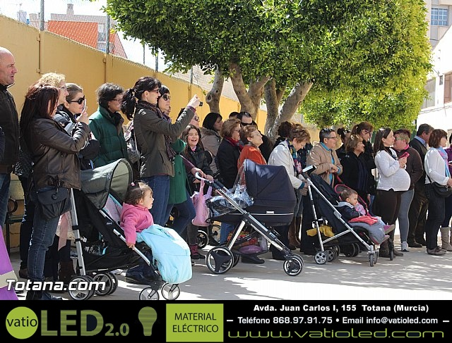 Procesión infantil Colegio Santiago - Semana Santa 2015 - 2