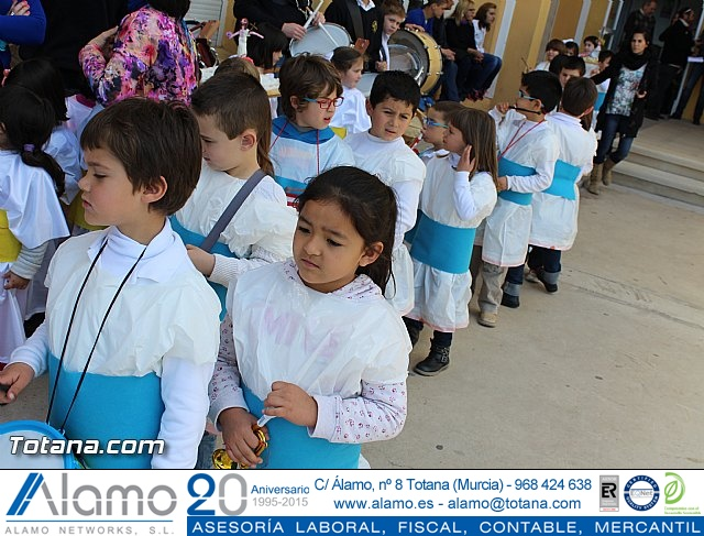 Procesión infantil Colegio Santiago - Semana Santa 2015 - 31