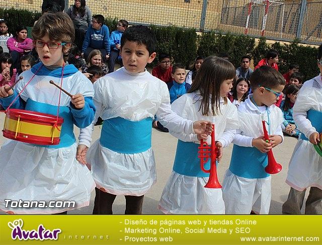Procesión infantil Colegio Santiago - Semana Santa 2015 - 86