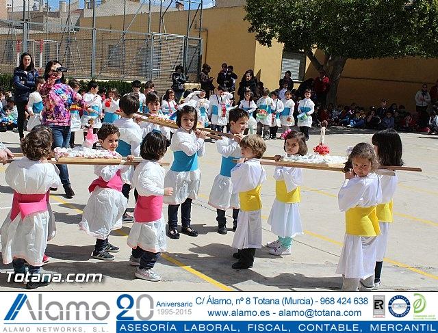 Procesión infantil Colegio Santiago - Semana Santa 2015 - 108
