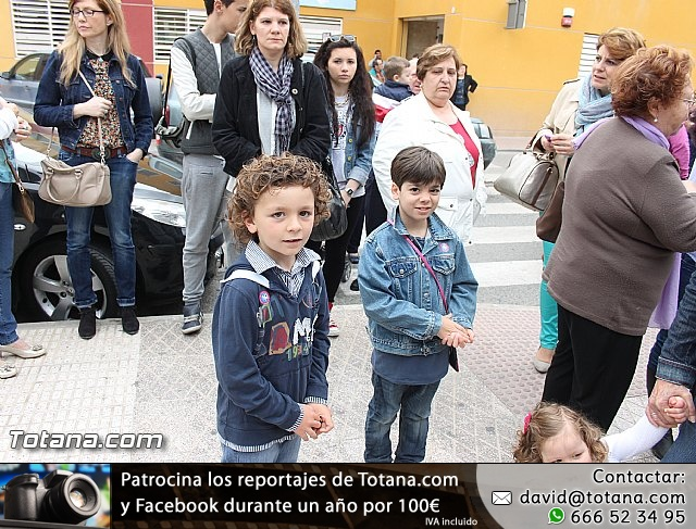 Procesión infantil. Escuela Infantil Clara Campoamor - Semana Santa 2014 - 10