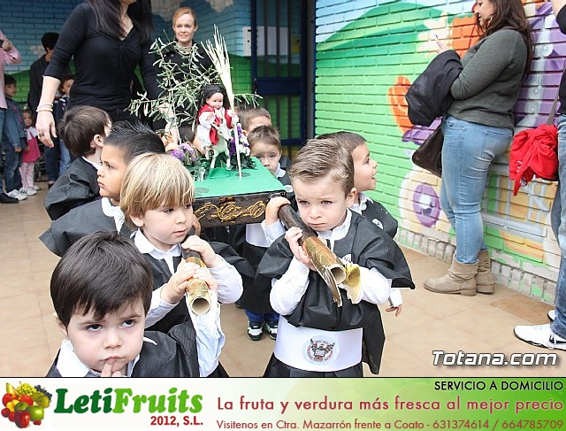 Procesión infantil. Escuela Infantil Clara Campoamor - Semana Santa 2014 - 22