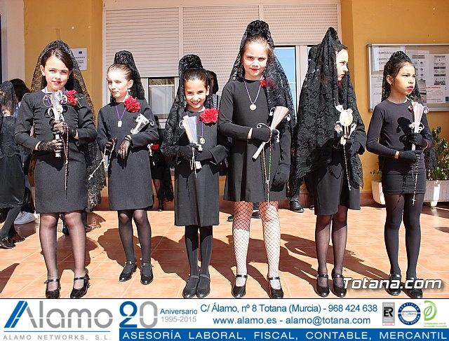 Procesión infantil Colegio Santa Eulalia - Semana Santa 2017 - 7