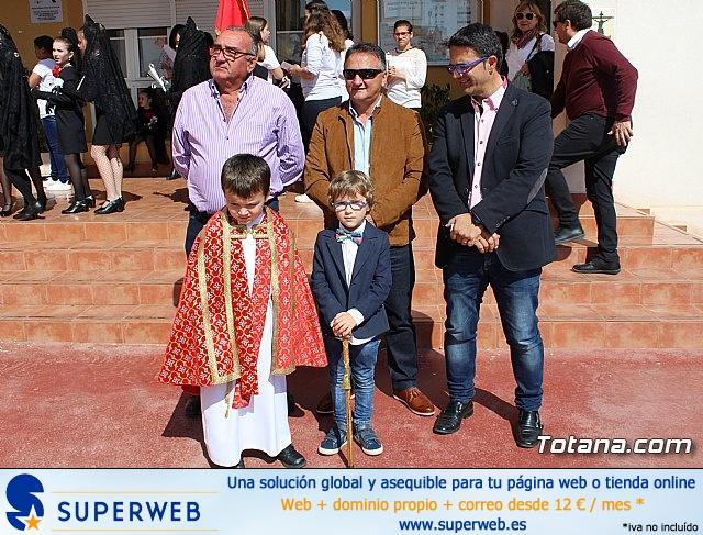 Procesión infantil Colegio Santa Eulalia - Semana Santa 2017 - 13