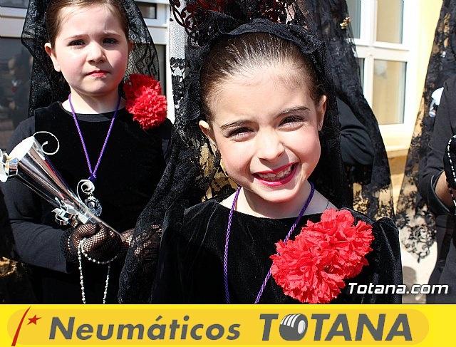 Procesión infantil Colegio Santa Eulalia - Semana Santa 2017 - 21