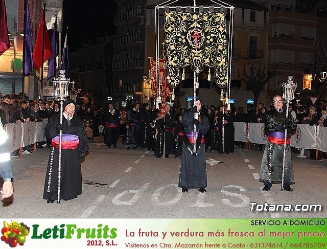 Procesión del Santo Entierro (recogida) - Semana Santa de Totana 2018 - 3