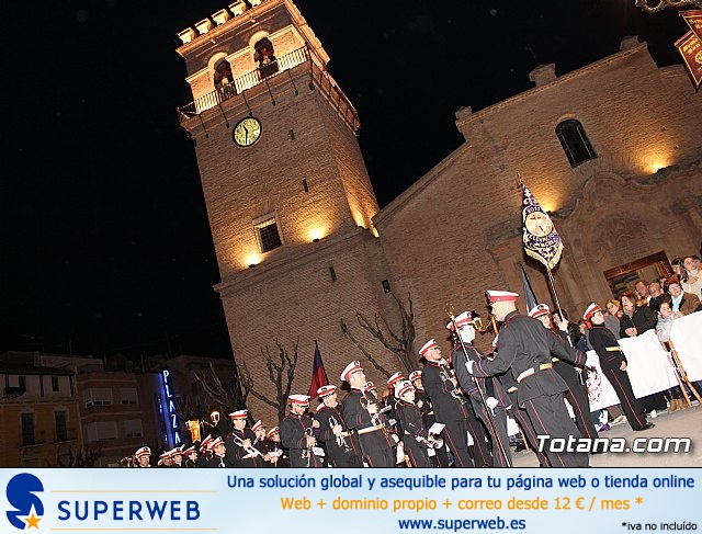 Procesión del Santo Entierro (recogida) - Semana Santa de Totana 2018 - 6