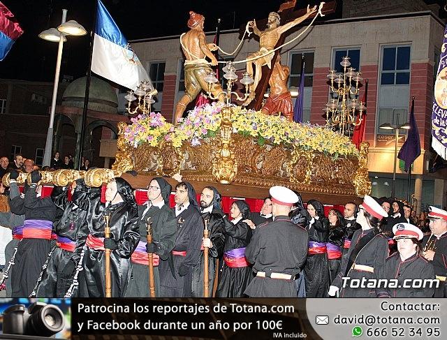 Procesión del Santo Entierro (recogida) - Semana Santa de Totana 2018 - 11
