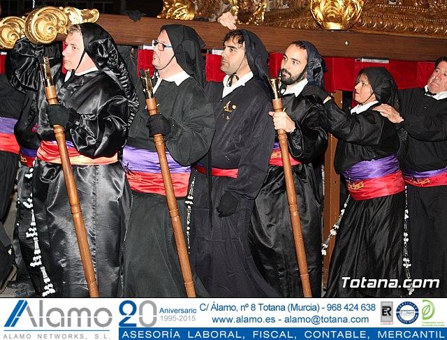 Procesión del Santo Entierro (recogida) - Semana Santa de Totana 2018 - 12