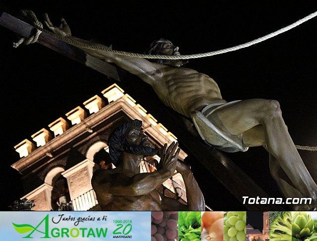 Procesión del Santo Entierro (recogida) - Semana Santa de Totana 2018 - 18