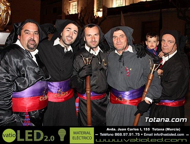 Procesión del Santo Entierro (recogida) - Semana Santa de Totana 2018 - 19