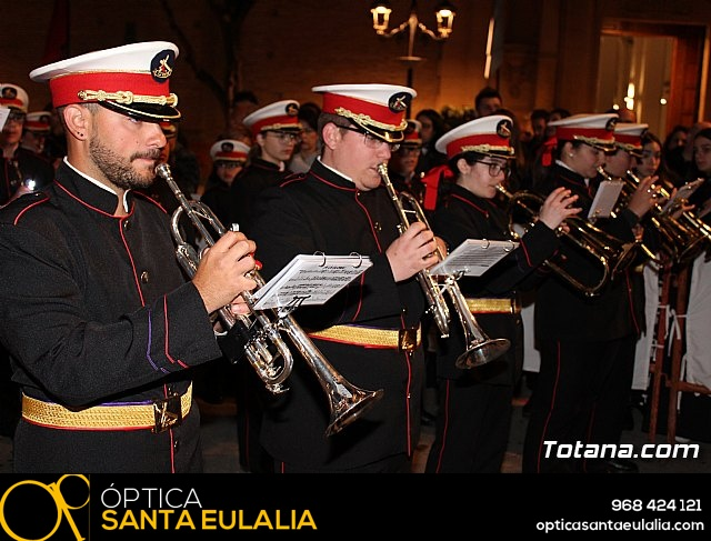 Procesión del Santo Entierro (recogida) - Semana Santa de Totana 2018 - 24