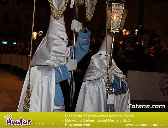 Procesión del Santo Entierro (recogida) - Semana Santa de Totana 2018 - 28