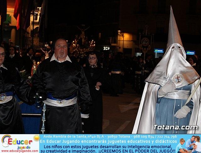 Procesión del Santo Entierro (recogida) - Semana Santa de Totana 2018 - 29