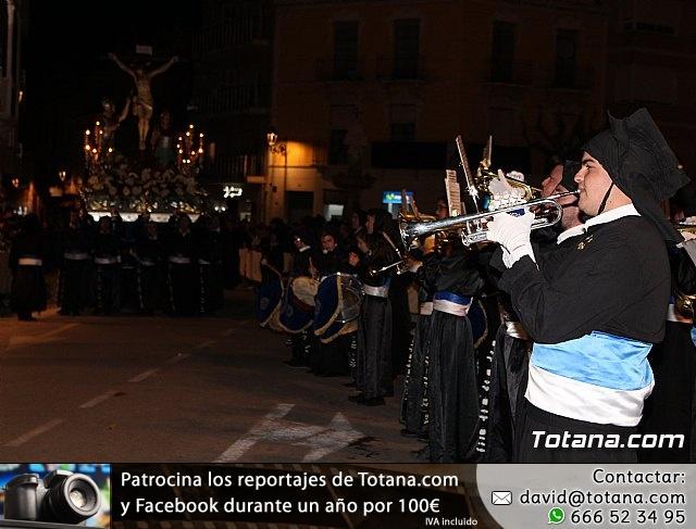 Procesión del Santo Entierro (recogida) - Semana Santa de Totana 2018 - 30