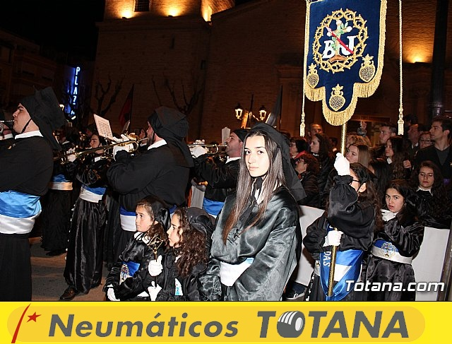 Procesión del Santo Entierro (recogida) - Semana Santa de Totana 2018 - 31