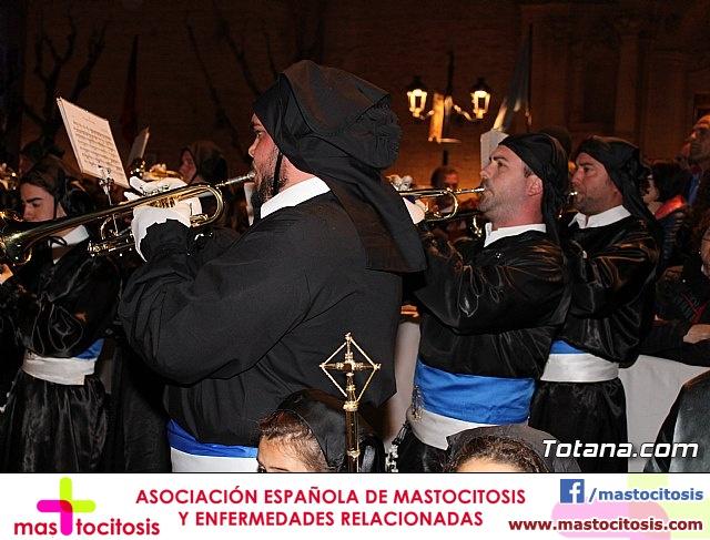 Procesión del Santo Entierro (recogida) - Semana Santa de Totana 2018 - 32