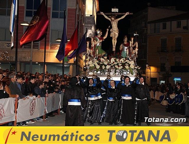 Procesión del Santo Entierro (recogida) - Semana Santa de Totana 2018 - 33
