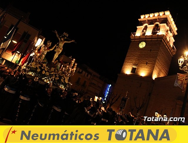 Procesión del Santo Entierro (recogida) - Semana Santa de Totana 2018 - 34