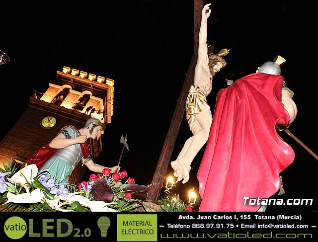 Procesión del Santo Entierro (recogida) - Semana Santa de Totana 2018 - 36