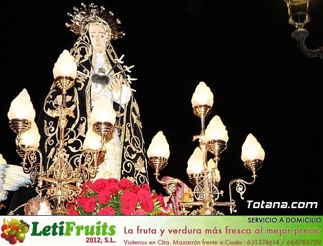 Procesión del Santo Entierro (recogida) - Semana Santa de Totana 2018 - 258