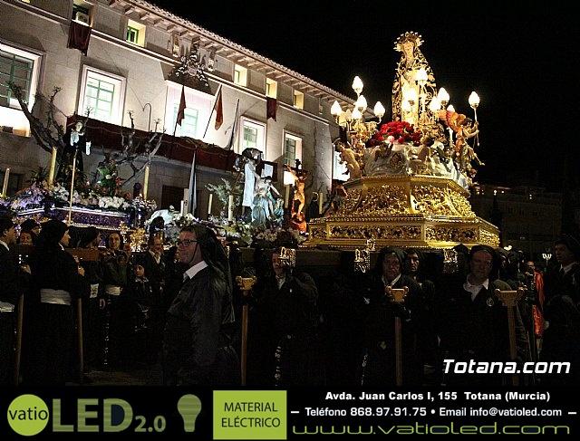 Procesión del Santo Entierro (recogida) - Semana Santa de Totana 2018 - 259