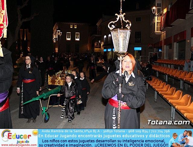 Procesión del Santo Entierro (salida) - Semana Santa de Totana 2018 - 14
