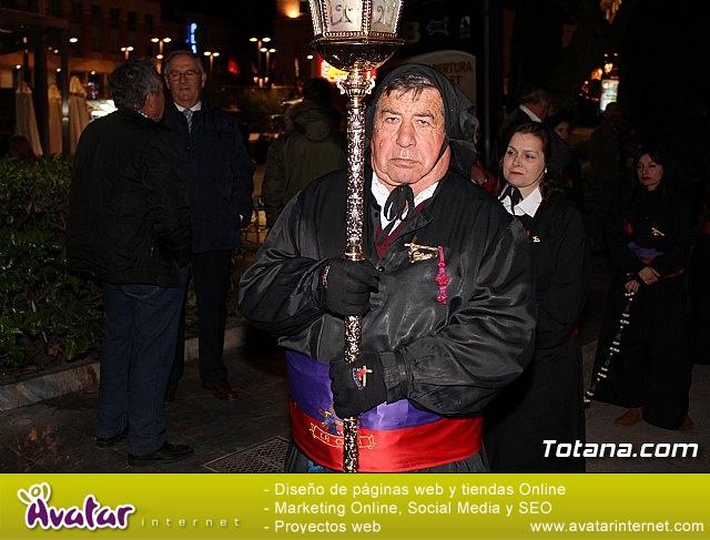 Procesión del Santo Entierro (salida) - Semana Santa de Totana 2018 - 17