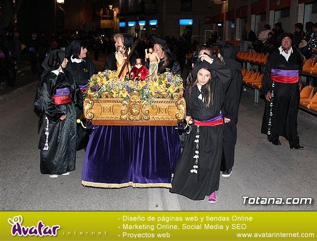 Procesión del Santo Entierro (salida) - Semana Santa de Totana 2018 - 28