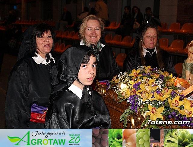 Procesión del Santo Entierro (salida) - Semana Santa de Totana 2018 - 29