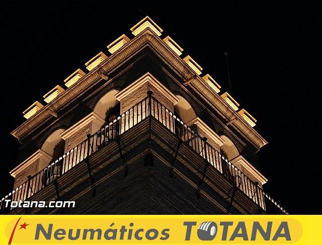 Procesión del Santo Entierro (Salida) - Viernes Santo noche - Semana Santa Totana 2015 - 3
