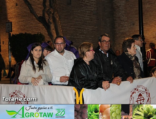 Procesión del Santo Entierro (Salida) - Viernes Santo noche - Semana Santa Totana 2015 - 5