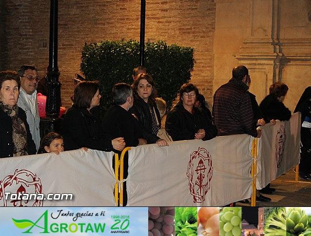 Procesión del Santo Entierro (Salida) - Viernes Santo noche - Semana Santa Totana 2015 - 6