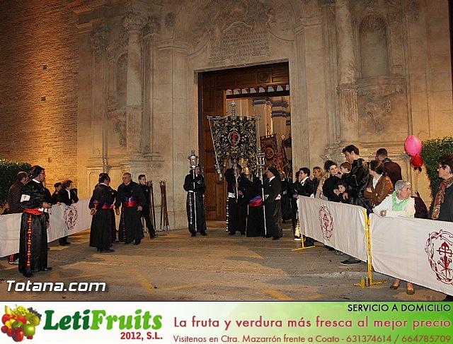 Procesión del Santo Entierro (Salida) - Viernes Santo noche - Semana Santa Totana 2015 - 7
